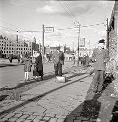 Fotografie : Berlin 1950, zwischen Verfall und Wiederaufbau - Nachrichten Regionales - Berlin - DIE WELT