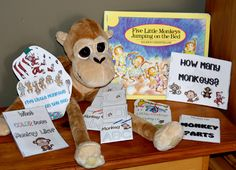 5 little monkeys activities