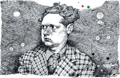Dylan Thomas, by Paul van der Steen