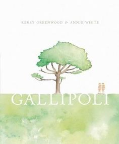 Gallipoli - It was 1914 and Dusty and Bluey are headed for adventure. They were ANZACS, on their way to the Great War.  Award-winning author Kerry Greenwood explores the themes of bravery, hardship, humour, fear and above all, mateship. The story of Bluey and Dusty is a story of family and friendship. It is the story of Gallipoli.  Beautifully illustrated in water colour by Annie White, this book showcases Annie's deft touch in revealing human emotions and expression.