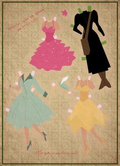 Contemporary Paper Dolls . . . free downloads . . .