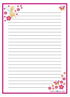 portal a & e, papel de carta, sininho-10