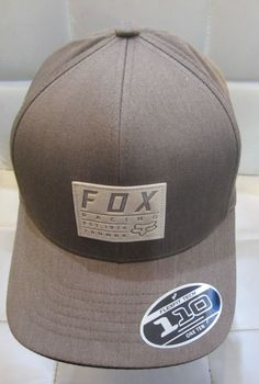 0737dd014f3a1 FOX RACING TRDMRK 110 SNAPBACK HAT FLEXFIT CAP MOTOCROSS OFF ROAD MX 21997  NEW  fashion