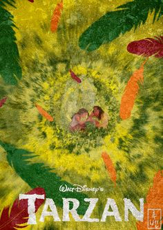 Tarzan ~ Minimal Movie Poster by Ruben ~ Disney Series Disney Jane, Disney Films, Disney And Dreamworks, Disney Magic, Disney Pixar, Disney Parks, Tarzan Movie Disney, Disney Actual, Disney And More