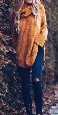 8 Elegant and Cozy Sweater Outfit to Try this Winter/Fall - Style Spacez