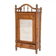 Antique Vanity Cabinet