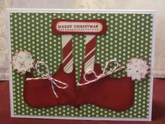 Stamping With Bridgett: Christmas Card Stamp Camp Day 3