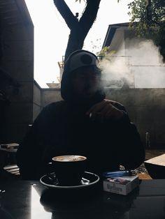 Smokahontas #silhouette #smoke #black #afternoon Tumblr Wallpaper, Iphone Wallpaper, Pretty Boys, Cute Boys, Instagram Story Ideas, Tumblr Boys, Ulzzang Boy, Wattpad, It Cast