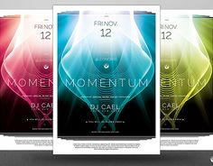 """Check out new work on my @Behance portfolio: """"Momentum Flyer Template"""" http://be.net/gallery/40575433/Momentum-Flyer-Template"""