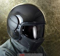 "CABERG > ""Ghost"" Fiber Carbon Helmet"