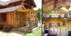 The title of this article says it all. Beautiful cabins inside and out. These cabins that are featur ...