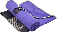 Made from an 80/20 blend of polyester and polyamide, this Sunland microfiber towel is thirsty, soft, hypoallergenic, anti-bacteria, lightweight, compact, quick-drying and easy to clean. It's compact enough to bring on your travel, hiking or camping without taking up much space in your bag. Looking for more options? Discover our complete list and share with us your favorite travel towel! #TravelFashionGirl #TravelFashion #TravelTips #whattopack #traveltowel #musthave Towel Workout, Gym Towel, Yoga Towel, Beach Vacation Packing List, Packing Tips For Travel, All Yoga Poses, Packing Light, What To Pack, Washing Clothes