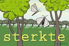 """Gratis e-card: """"Sterkte"""""""