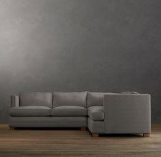 Easton Upholstered Corner Sectional | Sectionals | Restoration Hardware
