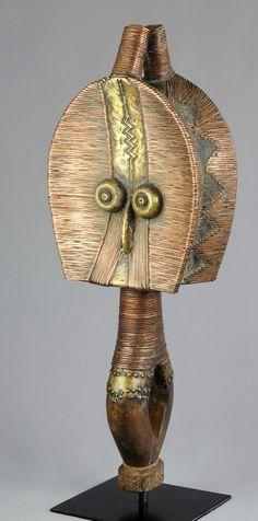Rare RELIQUAIRE KOTA MAHONGWE double face Janus Gabon reliquary figure BWETE | eBay