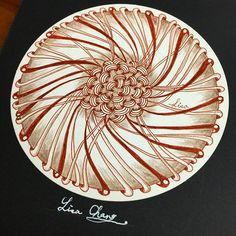 Wheelz/Pepper/ Hollibaugh. #Zendala #zentangle #Mandala#Lisa#Taipei #Taiwan#Zentangle#ZIA#doodle#painting#drawing#feather#peacock#animal#tree#rabbit#flower#artwork#zentangleart#dreamcatcher
