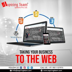 Aspiring Team is a creative website development company in India. We are experts in creating a customized website exactly as per the requirements of the client. If you any specific need in mind, you can discuss with us. The goal isn't to build a website. The goal is to build your business.    #AspiringTeam #WebsiteDevelopment #WebDesigning #Development #ITCompany #Website #Noida #DigitalMarketingCompany #SMOServices #SEOServices #SEMServices #WebDesign Social Media Marketing Companies, Website Development Company, Building A Website, Seo Services, Digital Marketing, Goal, Web Design, India, Business