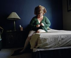 Jen Davis's self-portraits documenting her body and extensive weight loss are brave & poignant.