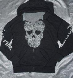 LOVE PINK skull hoodie<3