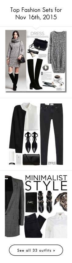"""""""Top Fashion Sets for Nov 16th, 2015"""" by polyvore ❤ liked on Polyvore featuring Bobbi Brown Cosmetics, CB2, Garance Doré, Lipsy, Sheinside, longsleevedress, shein, Acne Studios, Chicwish and Zara"""