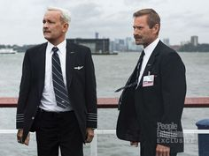 NEW CLINT EASTWOOD MOVIE: In Tom Hanks' latest film, he suits up as Captain Chesley 'Sully' Sullenberger — the U.S. Airways pilot who made a heroic emergency landing on the Hudson River in 2009. And the two-time Oscar winner embraced the role in every way, costar Aaron Eckhart, who plays copilot Jeffrey Skiles, says in an exclusive