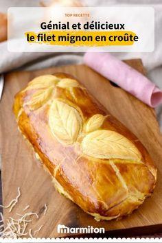 Filet mignon de porc en croûte, une recette facile qui en jette pour recevoir en toute simplicité #porc #croute #filetmignon #recette #marmiton #recettemarmiton #cuisine