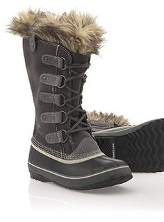 Got my Sorel boots that are still in the box from last year! I'm ready for winter when it comes, let's do this!!