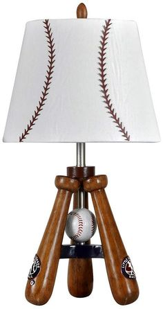 If my son gets into baseball, I will have to get him this lamp (sponsored)