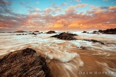 Liquefied Gold by DrewHopper on DeviantArt Sand And Water, East Coast, Sunrise, Deviantart, Beach, Gold, Landscapes, Outdoor, Beautiful