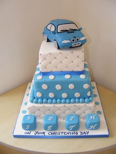 boys christening cupcakes - Google Search