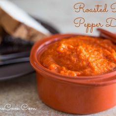 Roasted Red Pepper Soup - Overtime Cook