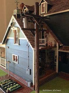Ash Tree Cottage: Kathleen's Newer Bigger and Better Dollhouse