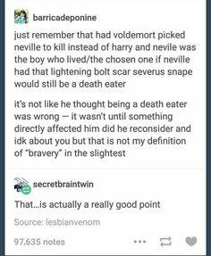 Okay but that literally doesn't influence bravery at all? You could kill a million people and it doesn't mean you're not brave