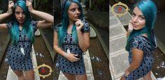Women's Sacred geometry pattern Dress with Hood , Slit Back Dress, Fractal Mandelbrot Sliver screen print, Festiival wear, Burning Man, by imagodeidesign | Smoked Glass Goggles
