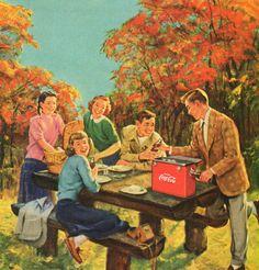 Coca Cola Picnic - 1950