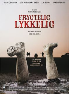 Frygtelig lykkelig (Henrik Ruben Genz, DK, 2008) Poster art: unknown. Poster still: Thomas Marott. Robert has a number of skeletons in his closet, which he is determined to bury. Although hardly his dream job, Robert sees the position of temporary village constable as a necessary stage on the road to rehabilitation. www.dfi.dk/faktaomfilm/film/en/56217.aspx?id=56217