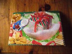 Carte de vœux sujet Noël avec publication dans journaux commercial !!! !!!!!!pièce unique. : Cartes par ninita-nikolina