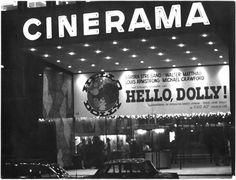 Rotterdam, Cinerama, tijdens HELLO DOLLY, circa 1969