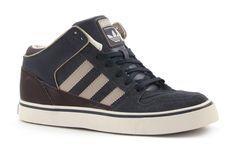 Adidas culver mid grijze hoge kinder sneakers