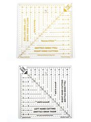 Handy Quilt & Sew Tools & Notions - Reverse-A-Rule Square Ruler