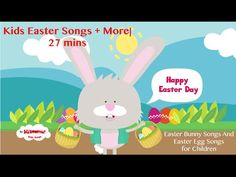 Easter Songs for the Classroom! Great for toddlers, preschoolers and kindergarteners!  #eastermusic #kiboomers