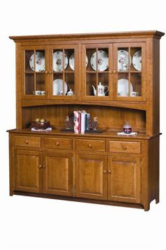 amish shaker four door hutch from dutch crafters I NEED! # dutch crafters amish furniture Amish Galloway Shaker Four Door Hutch Woodworking With Resin, Woodworking Shop Layout, Woodworking Plans, Woodworking Classes, Youtube Woodworking, Woodworking Supplies, Crockery Cabinet, China Cabinet, Crockery Units