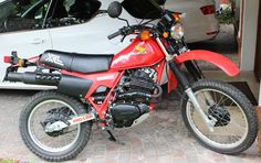 Moto Honda XL 500