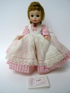 "1960s madame alexander dolls | Vintage 8"" Madame Alexander Doll 1960s Little Women - Meg"