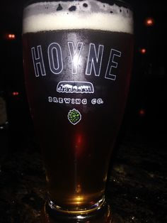 Hoyne Down Easy Pale Ale is slightly hopped out if Victoria, BC