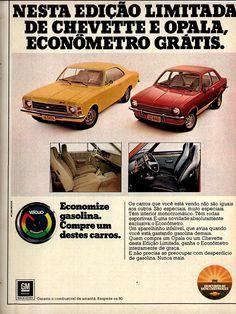 1977 Chevrolet Opala & Chevette - Brasil