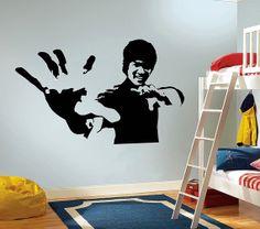 Vinilo decoracion Bruce Lee 60 x 90 cm por Decor18 en Etsy, €8.99