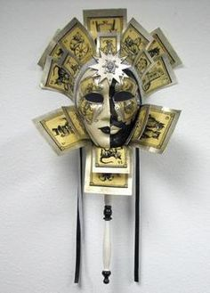 Visions of Venice / Venetian Masks / Venetian Luxury Mask Line - Linea di Lusso / Dio Dea Sorte