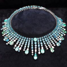 With stunning graduated tourmalines, Chopard's new Red Carpet collection necklace