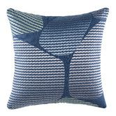 Found it at Temple & Webster - Salt Blue Square Cushion